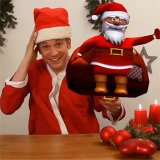 VIDEO: Have yourself a very merry AR Christmas... With magic!