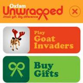App-vent Calendar - day 8: Oxfam Unwrapped