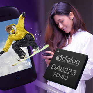 Dialog Semiconductor chip adds 2D to 3D conversion to mobile devices