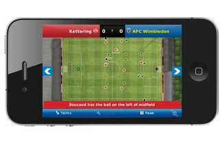 Football Manager Handheld 2011 lands on the iPhone