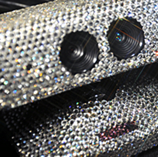 Kinect gets funky with Swarovski Elements
