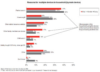 iPad success sees rise of two tablet household