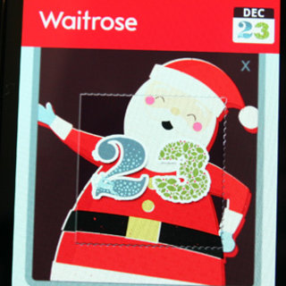 App-vent Calendar - day 23: Waitrose Christmas