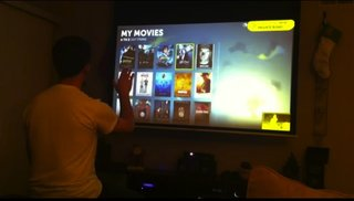 KinEmote: The Kinect powered Boxee remote