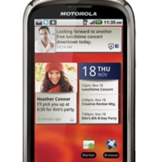 Motorola Cliq (Dext) 2 set for CES showdown