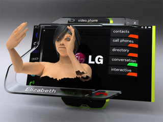 LG shows off glasses-free 3D mobile phone screen