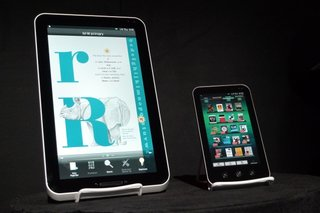 Sharp showcases Galapagos E-Media Tablet