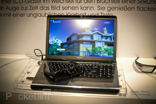 Sony Vaio F 3D prototype laptop becomes reality in February