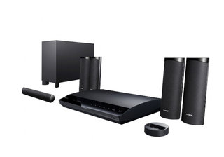 Sony goes 3D with new Blu-ray and home cinema kit