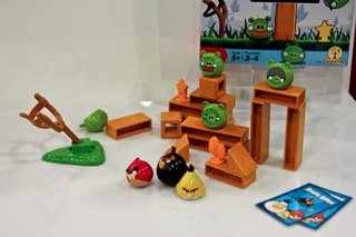 Mattel Angry Birds Knock on Wood: The Angry Birds board game