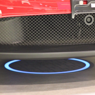 Fulton Innovations demo wireless car charging