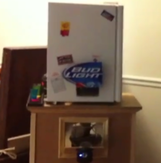 VIDEO: Awesome beer fridge canon and iPhone app