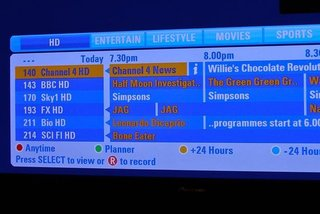 Sky EPG reshuffle gives HD channels priority