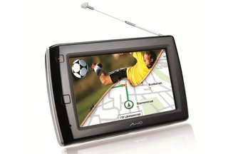 Mio Navman Spirit V575TV: TV and satnav combo