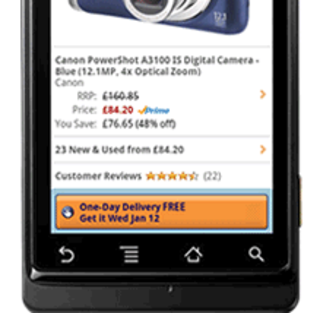 Amazon app for Android arrives