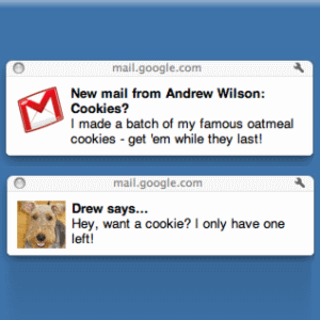 Google boosts Chrome with email desktop notifications