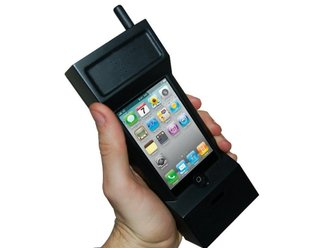 Thumbs Up to this 1980s yuppie iPhone case