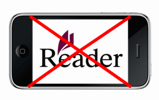 Apple rejects Sony Reader app