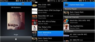 BlackBerry Radio broadcasting in the Beta Zone
