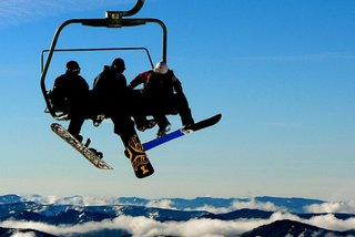 The ultimate snowboarder's suitcase