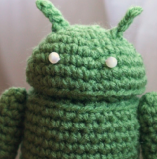 Crotchet Android mascot: Cranking the cute up to 11