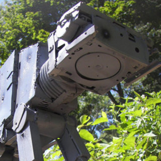 Star Wars AT-AT Imperial Walker made from recycled computer parts for sale