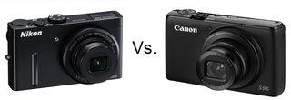 Nikon Coolpix P300 vs Canon PowerShot S95