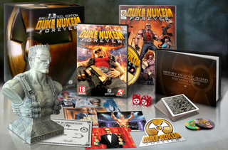 Duke Nukem Forever: Balls of Steel edition busts cover