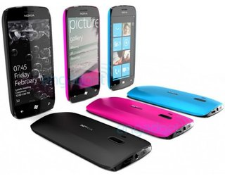 Nokia Windows Phone 7 concept shows colourful future
