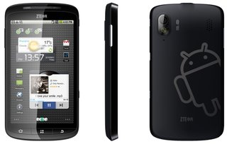 ZTE Skate(s) in Gingerbread handset