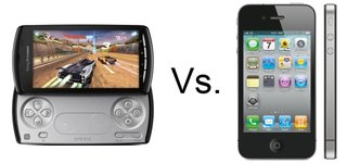 Sony Ericsson Xperia Play vs iPhone 4