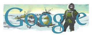 Google Doodle marks birth of Earnest Shackleton