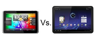 HTC Flyer vs Motorola Xoom