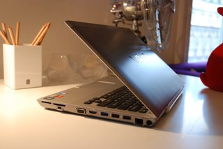 Sony Vaio S series hands-on