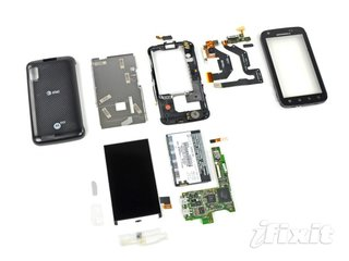 Motorola Atrix torn apart, no Matrix found inside
