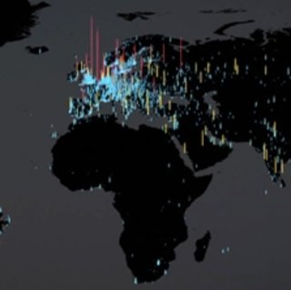 VIDEO: Android's world domination visualised