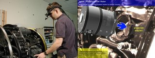 Augmented reality in action in 2011 - maintenance and repair