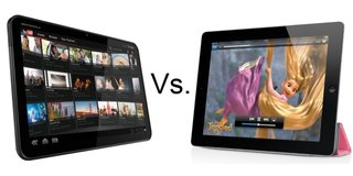 Apple iPad 2 vs Motorola Xoom