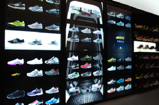 Adiverse Virtual Footwear Wall makes stroppy sales assistants obsolete