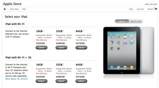 Apple iPad now £329 - while stocks last