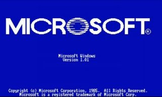 Microsoft Windows upgrade odyssey from 1.0 to 7