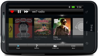 We7 radio music app comes to Android