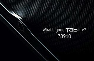 Samsung Galaxy Tab 8.9 teased