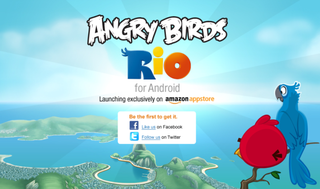 Amazon Appstore gets first dibs at Android Angry Birds Rio