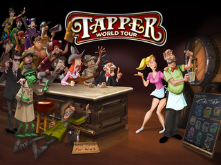 APP OF THE DAY: Tapper World Tour HD review (iPad)
