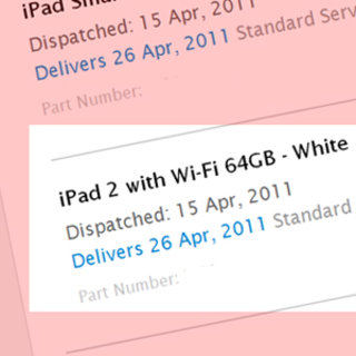 Apple iPad 2 online orders will take over a month to arrive