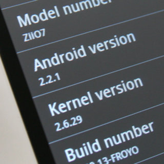 Creative ZiiO 7 Android 2.2 update arrives on schedule