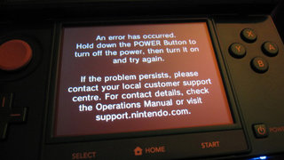 Nintendo 3DS: Reports of black screen of death hit UK