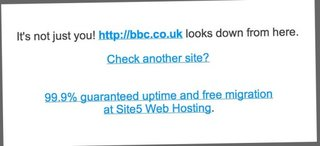 BBC website goes down, dubbed #bbcblackout (UPDATE, It's back)