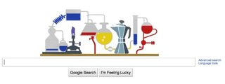 Google Doodle wishes Robert Bunsen happy birthday
